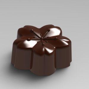 Forma e Molde para fazer bom bons de chocolate
